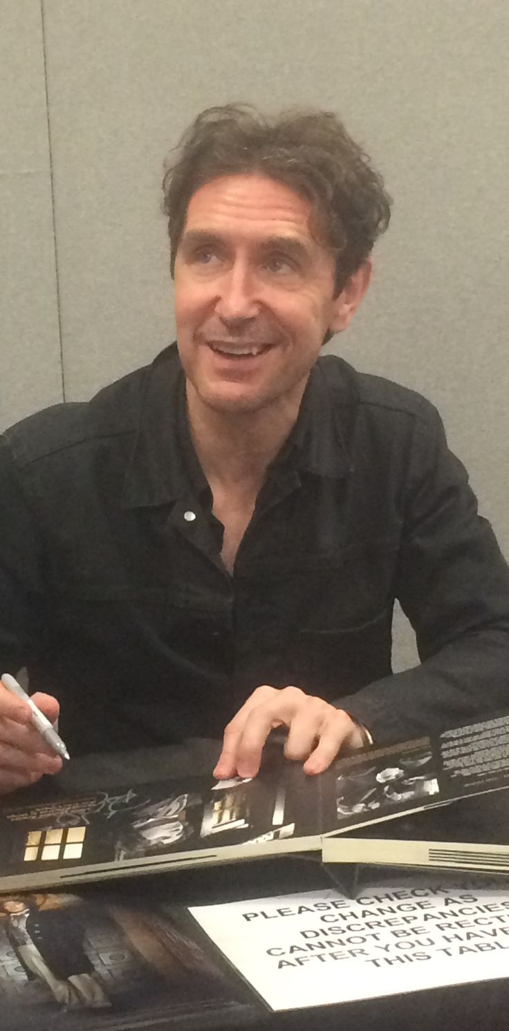 paul mcgann | LFCC: Paul McGann Talks New Who Companion – 'My Heart Went Pitter ...