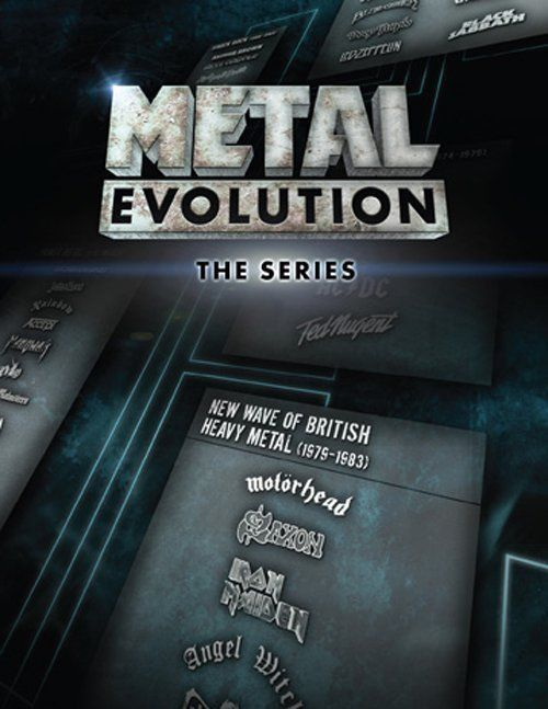 Metal Evolution (TV Series 2011– )