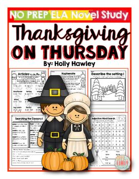This packet is PRINT and GO ready! No time spent laminating, cutting, or setting up. Print and your kids are ready to use engaging ELA activities that follow K-2 ELA standards with the Magic Tree House series: Thanksgiving on Thursday!This set is perfect for small groups, centers, homework, morning work, or part of your novel study!