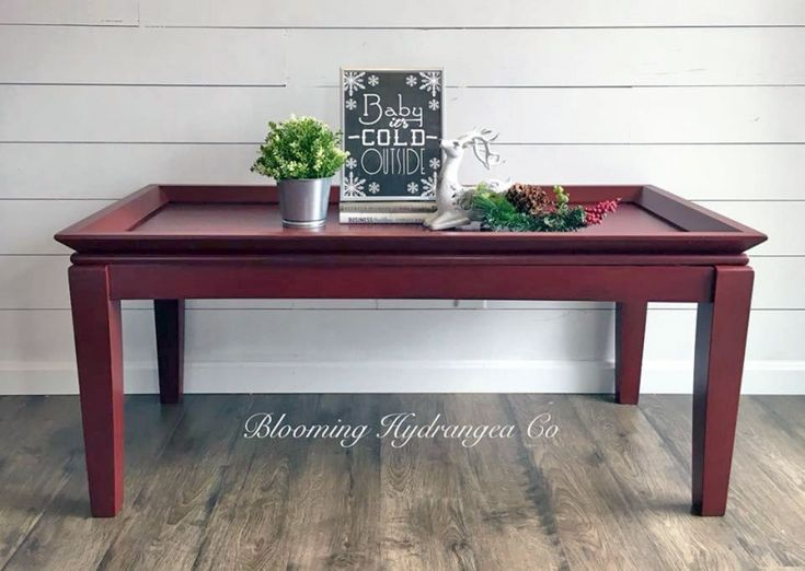 Tuscan Red Coffee Table | General Finishes Design Center