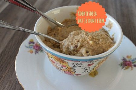 Recept koekjesdeeg dat je rauw kunt eten