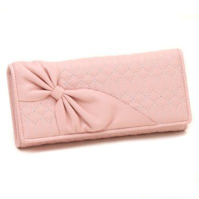Love this pastel pink wallet