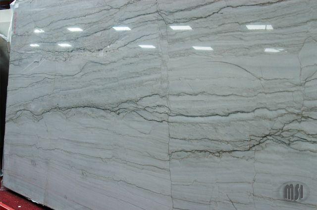 White Macaubas Granite New Orleans Mall Imagery