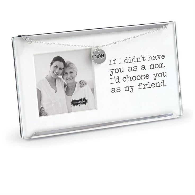Mud Pie Mom Clip Frame #mudpiegift