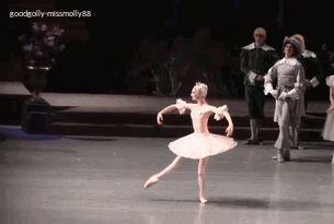 Oksana Skorik in her debut as Aurora. I'm so glad Oksana is finally keeping her arabesque just over 90 degrees and not going higher.