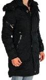 Jet Lag Women's parka Women's Jacket Winter Jacket black L SW61