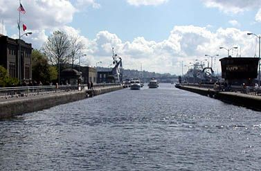 Ballard Locks - City Attractions - Virtual Tour - Visiting Seattle - Seattle.gov