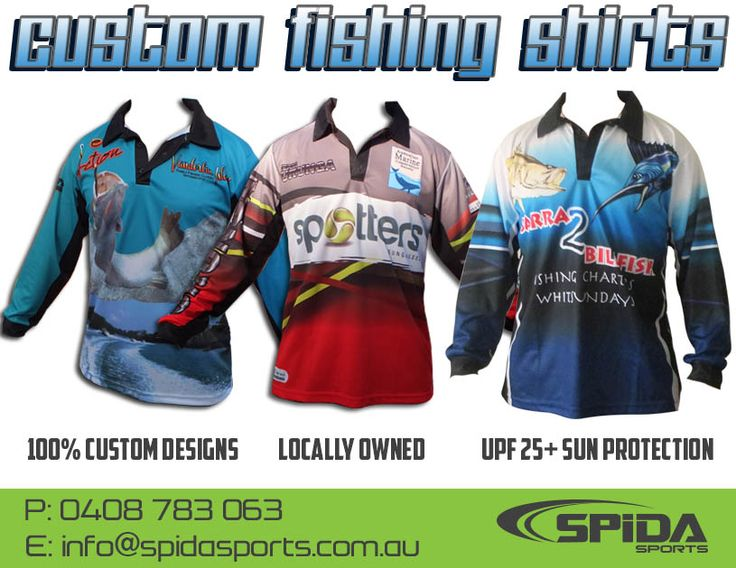 Get your customised sublimated polo shirt for you fishing tournament http://www.spidasports.com.au/sublimated-fishing-shirts/