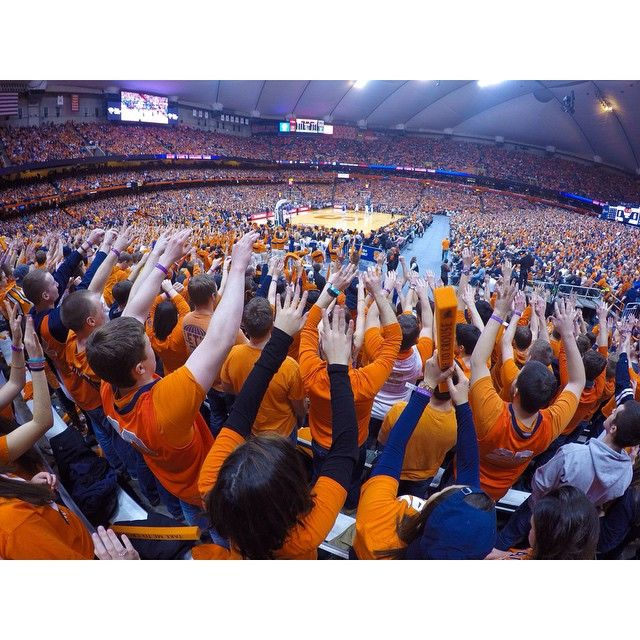 Photo from the SU vs. Duke game by @chaseguttman on Instagram
