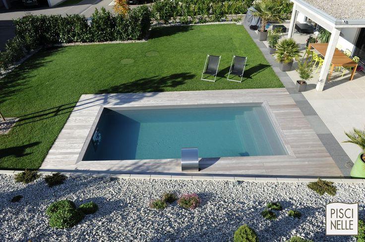 1000 id es propos de piscine rectangulaire sur for Piscine autoportee bois rectangulaire