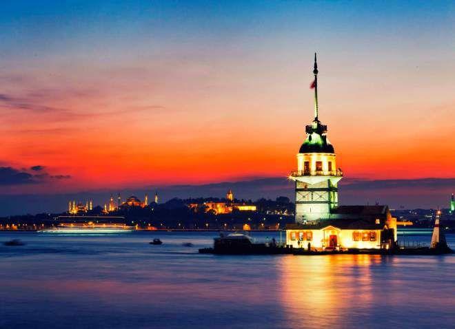 Девичья башня — Стамбул