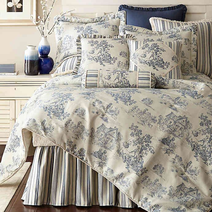 Austin Horn Classics Cosmopolitan Comforter Set Bed Bath