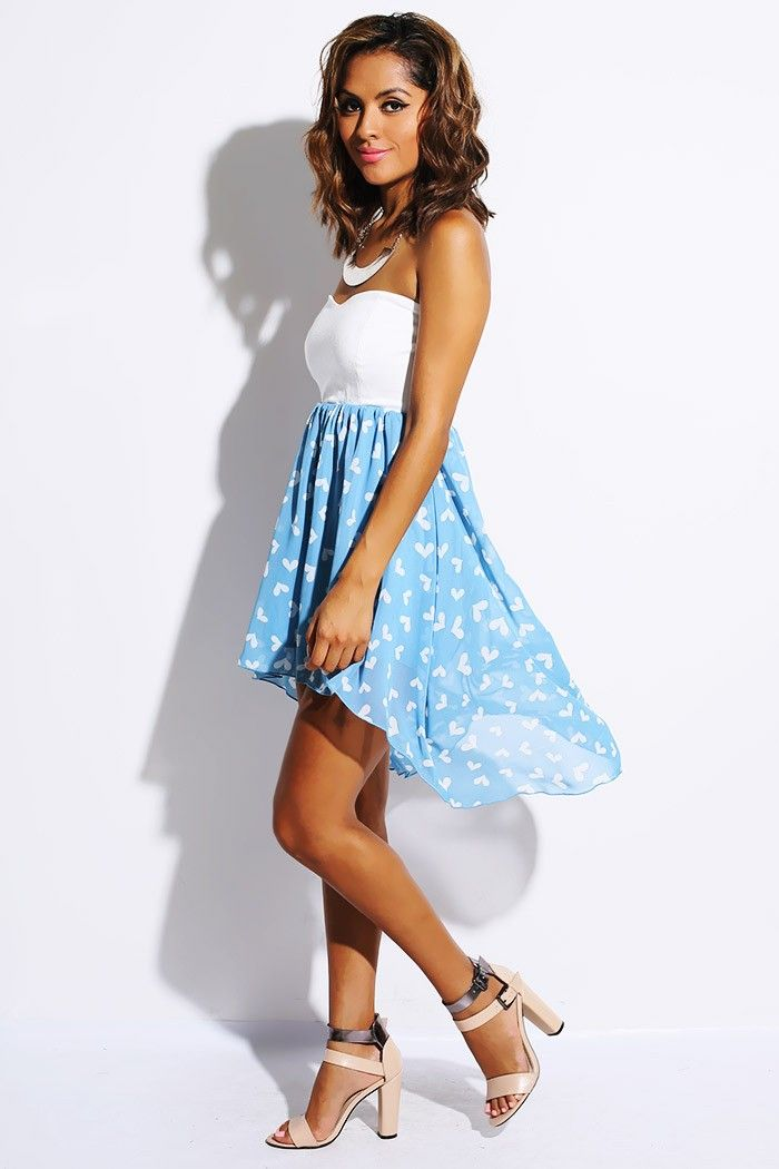 Low-Cut Sweetheart Dress