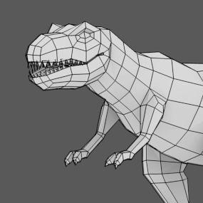 modeling a t-rex