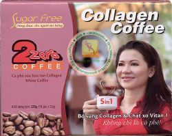 КОФЕ С КОЛЛАГЕНОМ ДЛЯ ПОХУДЕНИЯ - COLLAGEN COFFEE 5 IN 1 - РАСТВОРИМЫЙ КОФЕ ДЛЯ НАХОДЯЩИХСЯ НА ДИЕТЕ, ДЛЯ ПОХУДЕНИЯ - 220 ГР. (ДИЕТА) ВЬЕТНАМ.