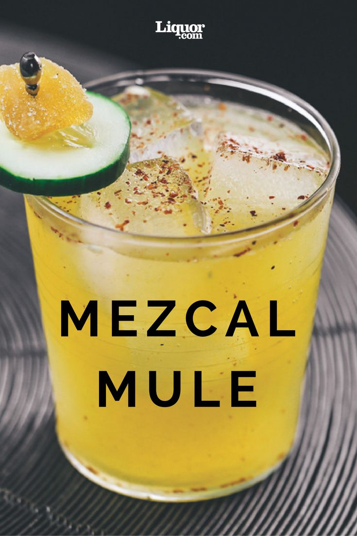 Classics with a Twist: The Mezcal Mule--Try this smoky variation of the gingery refresher.