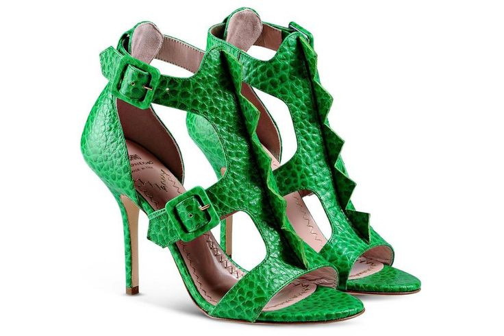 Moschino Cheap and Chic dinosaur shoes