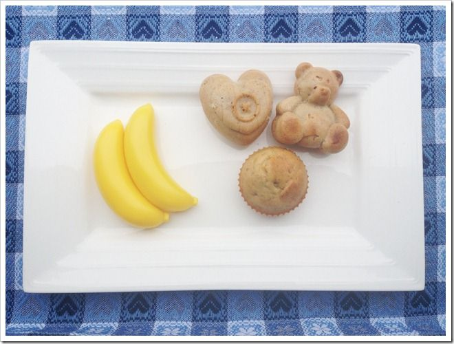 Muffin banane e miele (senza zucchero) | Mammarum