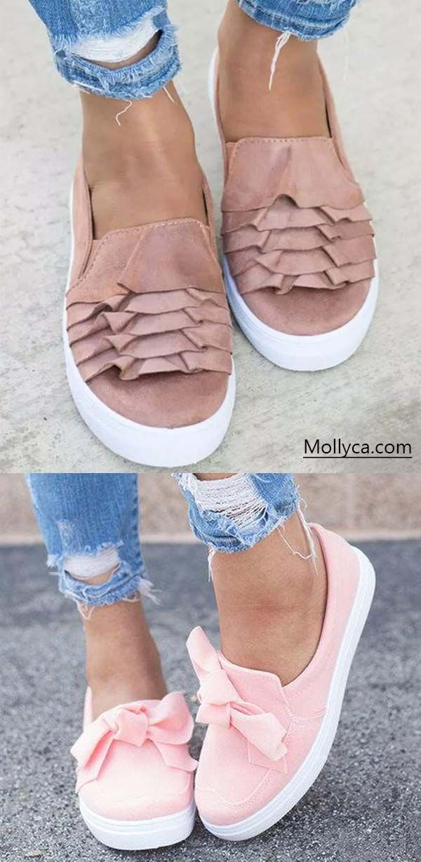 140c2982996a Buy 2 Got 5% OFF Code  mollyca Women s Casual Canvas Shoes