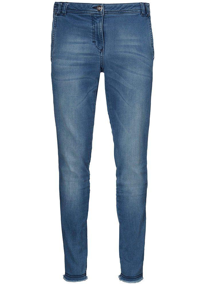 Jeans blå 22022 Stretch Jeans - 925 water mirror