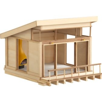 """Dollhouse? looks more like a model from studio. I know some architecture students that could make a fortune producing """"DOLLHOUSES"""""""