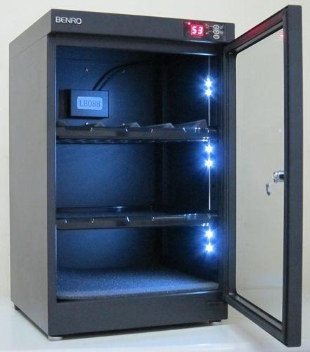 Dry Cabinet BENRO LB-88 Desumidificador para Equipamentos Fotográficos - Ekoban