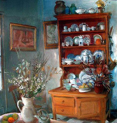 Interior by Margaret Olley