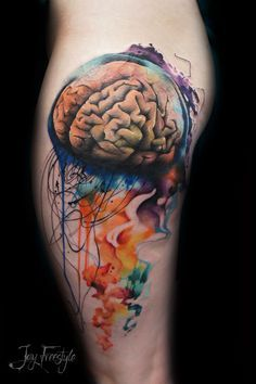 jellyfish tattoo - Buscar con Google
