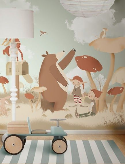 a different kind of kid's mural