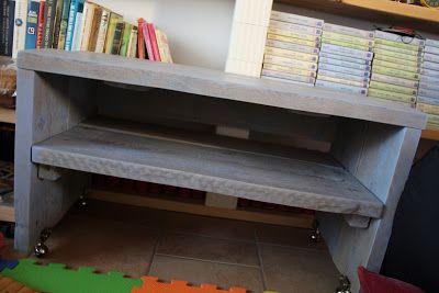 sbancali: tavolino soggiorno