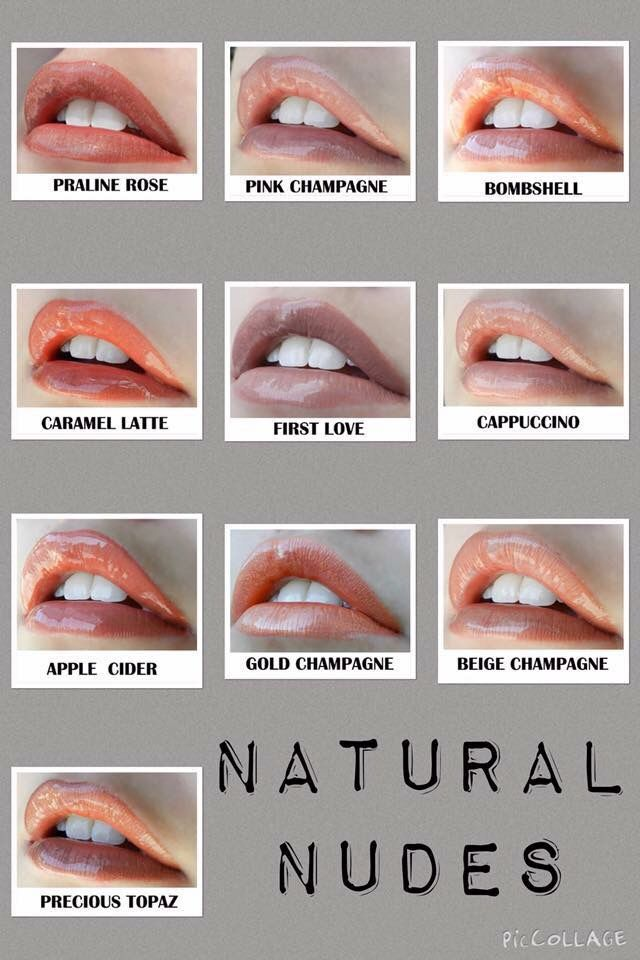 More Natural Lipsense Colors