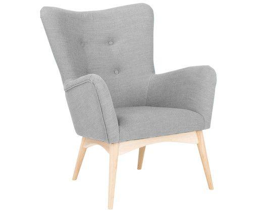 Übernehmen Sie den Vorsitz und entscheiden Sie sich für den Sessel LADY. Das Modell überzeugt mit dezenter Retro-Optik in angenehmer Farbnuance. Ob als Highlight in puristischen Wohnwelten im Skandi-Style oder in verspielten Vintage-Apartments: LADY macht sich in jedem individuellen Konzept gut. Der Sessel ist mit einem textilen Überzug bespannt, die feinen Stuhlbeine sind aus naturfarbener Eiche gefertigt. LADY hat echtes Lieblingsstück-Potenzial, denn der Sessel schafft eine tolle…