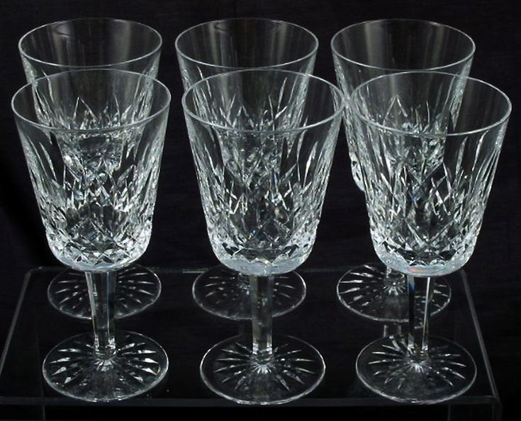 Waterford crystal wine glass and wine goblets on pinterest - Wedgwood crystal wine glasses ...