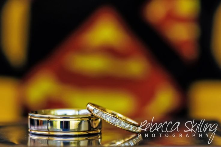 Let me be your superman. #superman #blingwithpower #weddingrings #weddingphotography