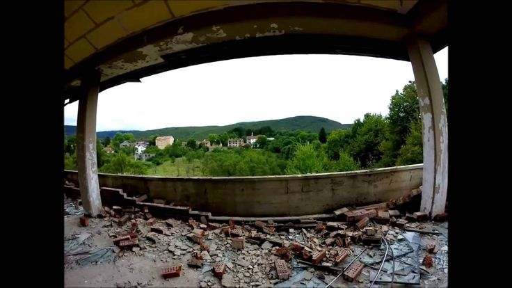 Abandoned places, Lika, Croatia - after the war - GoPro Hero 3+