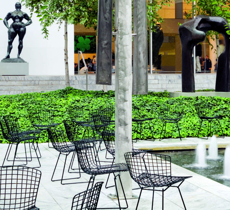 Knoll Outdoor Bertoia Chairs