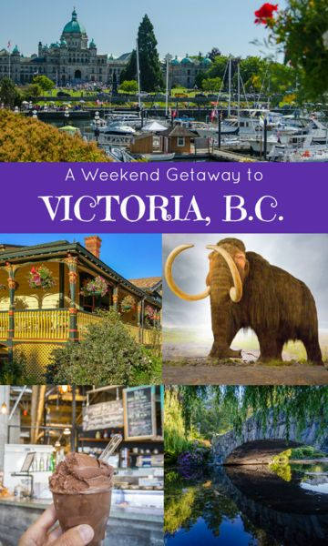 A Weekend Getaway to Victoria, BC