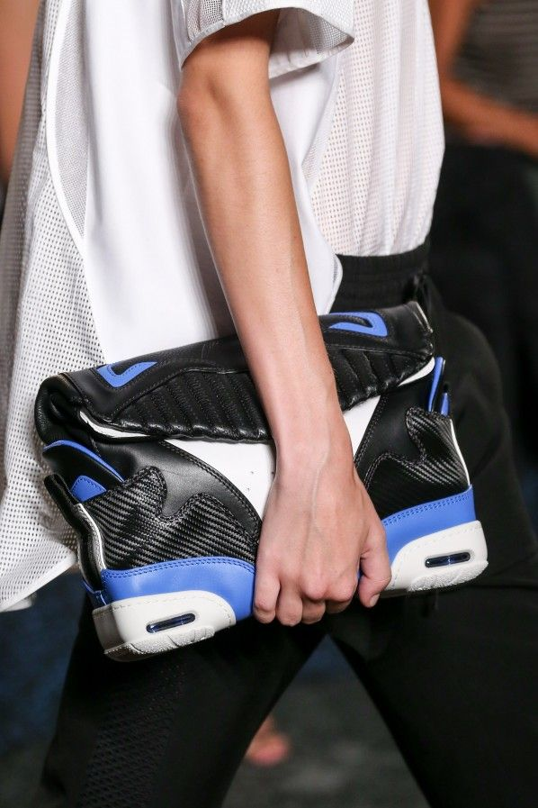 Editorial: 13 inspiring images with details of Alexander Wang SS15 collection.