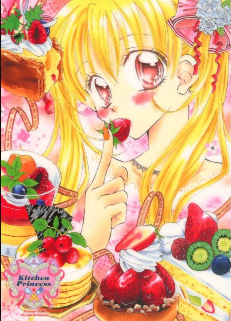best images about kitchen princess manga book on pinterest
