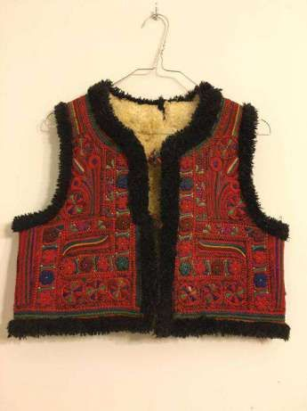 Cojoc Padureni, pieptar, costum popular, traditional, bundita