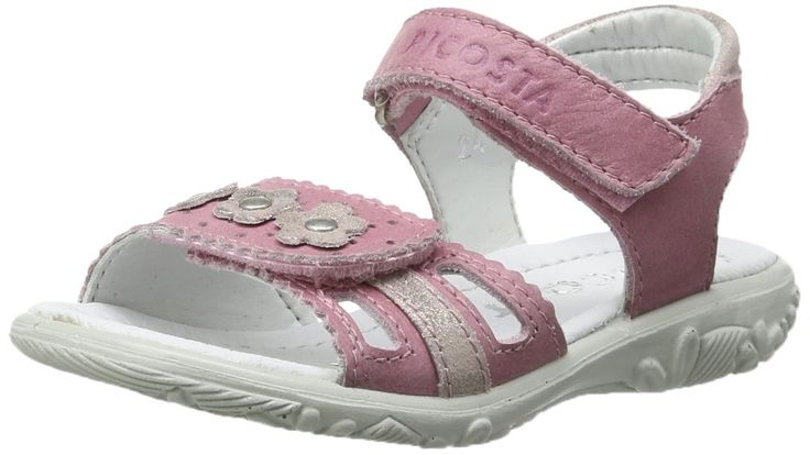 Ricosta Girls' Boots Klettschuhe Sympatex Amethyst Viol Rosa Leder Snow Sneakers 29. Made in Germany.