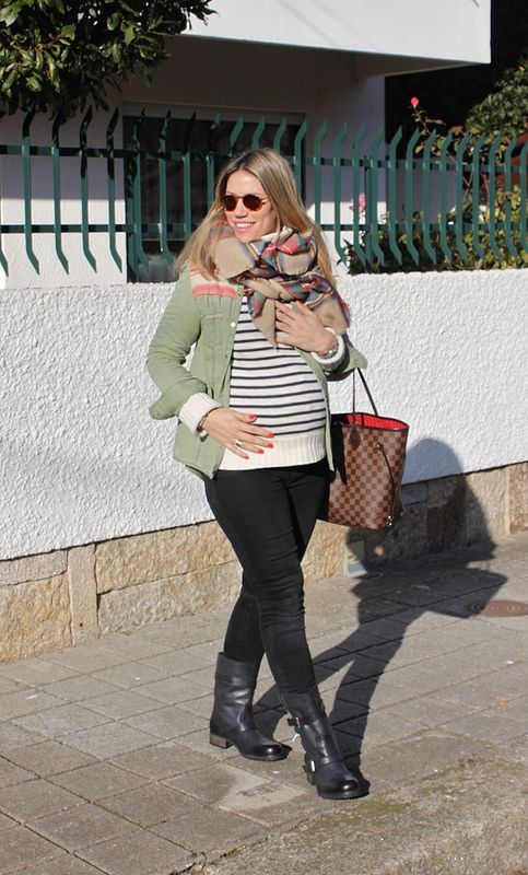 WORKING MUMMY COOL, look de embarazada, embarazada segundo trimestre, como vestir embarazada en invierno, pregnant in winter, second trimester, baby bump, perfect biker boots, IT Shoes