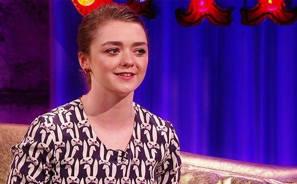 Maisie Williams wearing #MFP earrings! #soproud