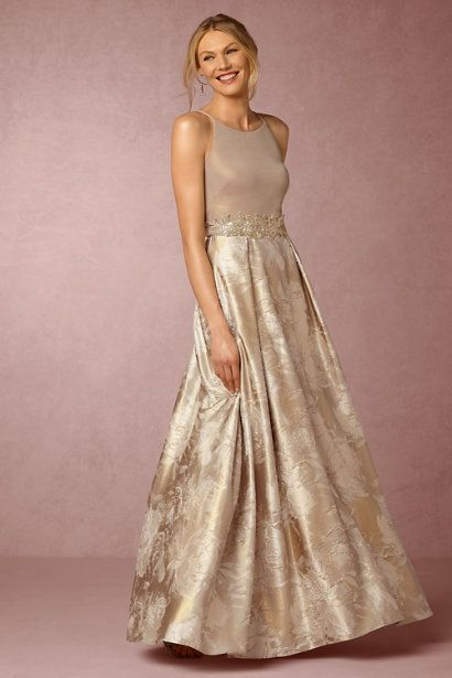 A collection of specially-selected gold, taupe, and neutral mother of the bride…