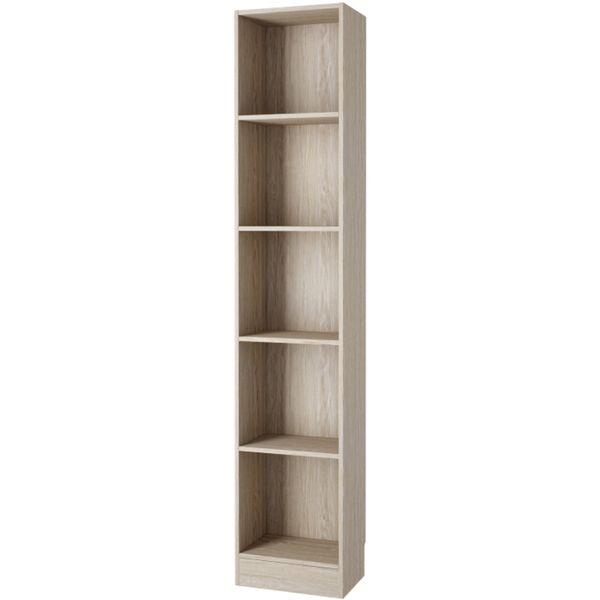 Element Tall Narrow 5 Shelf Bookcase