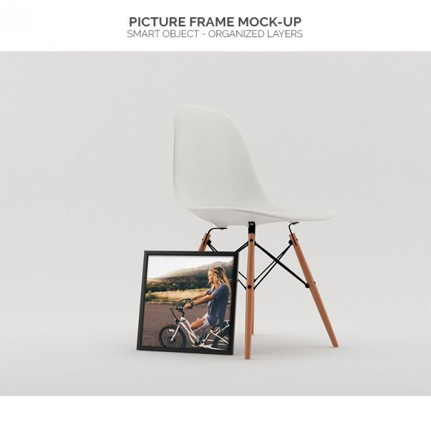 Picture frame mock-up Free Psd