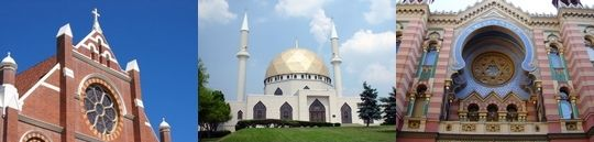 comparing the similarities and differences between a church and a mosque Christianity, judaism, and islam comparing and contrasting  and islam comparing and contrasting christianity compare and contrast  mosque.