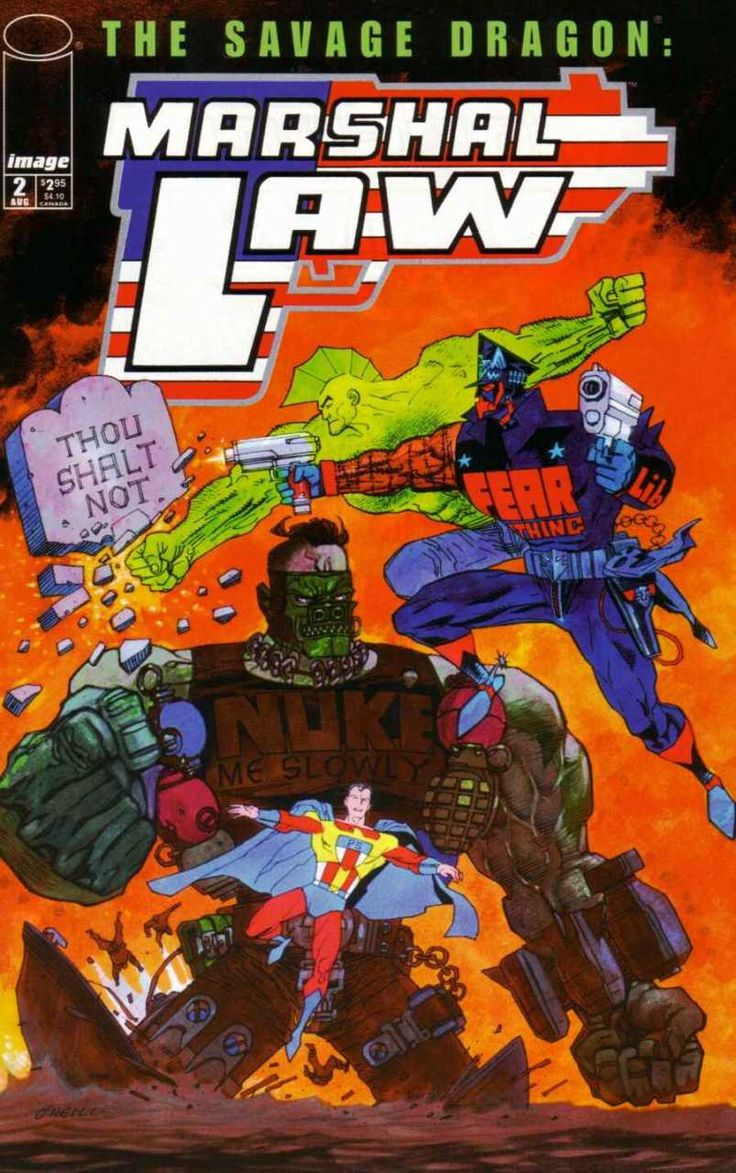 Savage Dragon/Marshal Law #2 (Issue)