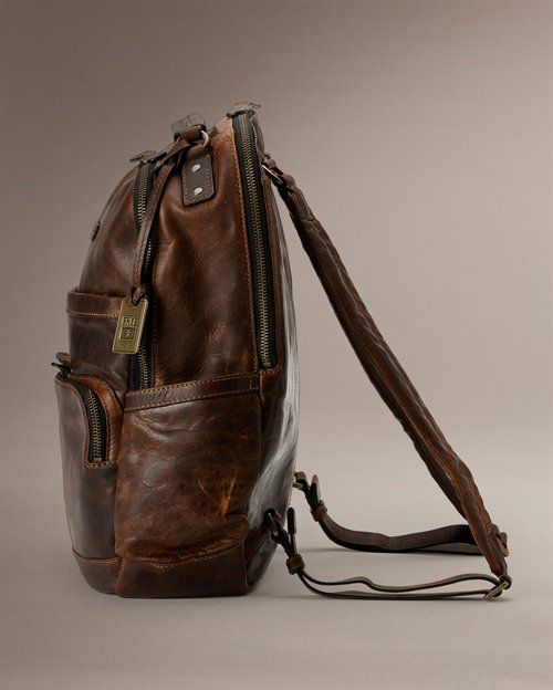 Logan Back Pack - View All Leather Handbags For Women - The Frye Company