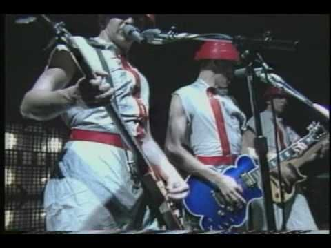 Devo - Mongoloid 'live' in 1980.  Same year I saw them at the Michigan State Auditorium the best fun